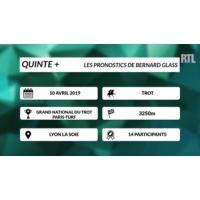 Logo of the podcast Quinté + : la dernière minute du Grand National du Trot Paris-Turf