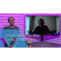 Logo of the podcast Visual Studio for Mac 7.6 & 7.7 Updates! | The Xamarin Show