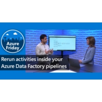 Logo of the podcast Rerun activities inside your Azure Data Factory pipelines | Azure Friday