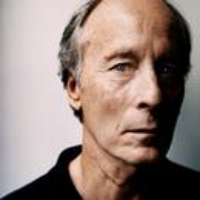 "Logo of the podcast Richard Ford Reads ""Displaced"""