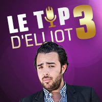 Logo of the podcast Le Top 3 d'Elliot (14.06.16)