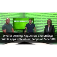 Logo of the podcast What is Desktop App Assure and Manage Win32 apps with Intune: Endpoint Zone 1810 | The Endpoint Zon…