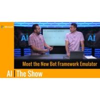 Logo du podcast Meet the New Bot Framework Emulator | AI Show