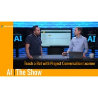 Logo du podcast Teach a Bot with Project Conversation Learner | AI Show