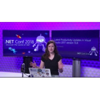 Logo of the podcast Latest Productivity Updates in Visual Studio 2017 Update 15.8 | .NET Conf 2018
