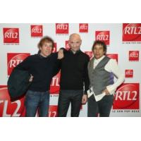 """Logo du podcast Alain Souchon & Laurent Voulzy dans """"Clap Hands"""" présenté par Gaëtan Roussel"""