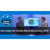 Logo of the podcast Get ready for Global Azure Bootcamp 2019 | Azure Friday