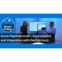 Logo of the podcast Azure Pipelines multi-cloud support and integration with DevOps tools | Azure Friday