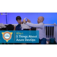 Logo of the podcast Five Things About Azure DevOps | Five Things