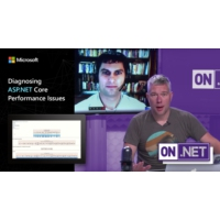Logo of the podcast Diagnosing ASP.NET Core performance issues | On .NET