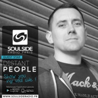Logo of the podcast SOULSIDE RADIO GUEST SESSION – DISTANT PEOPLE