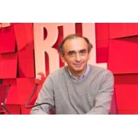 """Logo du podcast Éric Zemmour : """"Après le théorème d'Archimède, voici le théorème d'Hidalgo"""""""