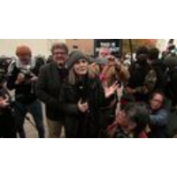 "Logo du podcast VIDEO: Amy Goodman Speaks After ND Judge Dismisses ""Riot"" Charges for Covering Pipeline Protest"