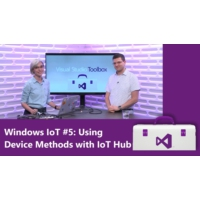 Logo of the podcast Windows IoT #5: Using Device Methods with IoT Hub (Getting Started Series) | Visual Studio Toolbox