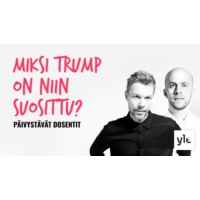 Logo of the podcast Miksi Trump on niin suosittu?