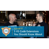 Logo of the podcast Episode 17: Five VS Code Extensions You Should Know About | Five Things