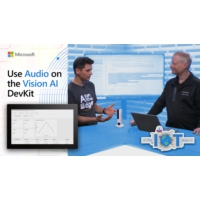 Logo of the podcast Use Audio on the Vision AI DevKit | Internet of Things Show