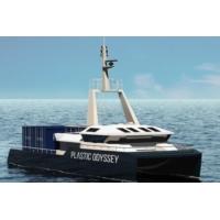 Logo du podcast Un catamaran propulsé par des plastiques prendra la mer en 2020