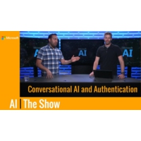 Logo of the podcast Conversational AI and Authentication | AI Show