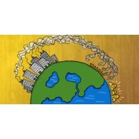 Logo of the podcast Reporterre sur France Inter: la justice climatique devient un impératif politique