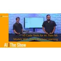 Logo of the podcast Train Machine Learning Models with Azure ML in VS Code | AI Show