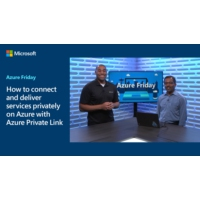 Logo of the podcast How to connect and deliver services privately on Azure with Azure Private Link | Azure Friday