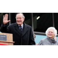 Logo of the podcast Exclusive: Fmr. Flight Attendant Tells Democracy Now! George H.W. Bush Grabbed Her, Delaying Takeoff