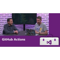 Logo of the podcast GitHub Actions | Visual Studio Toolbox