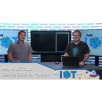 Logo of the podcast Azure IoT Hub device SDK for Python | Internet of Things Show