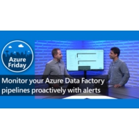 Logo of the podcast Monitor your Azure Data Factory pipelines proactively with alerts | Azure Friday