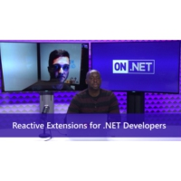 Logo of the podcast Reactive Extensions for .NET Developers | On .NET