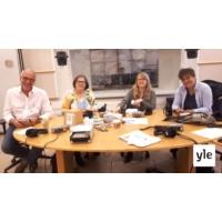Logo of the podcast Eurovaalikeskustelu ja Heidi Hautala (Vihr.), Silvia Modig(vas.), Elsi Ranta (KD) ja Nils Torvalds …