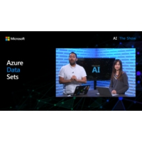 Logo of the podcast Azure Machine Learning Datasets | AI Show