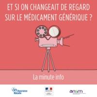 Logo of the podcast Chronique du 21 Novembre 2016 «Et si on changeait de regard sur le médicament générique ? La minute…