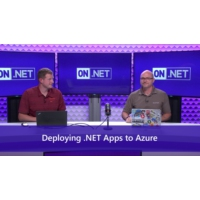 Logo of the podcast Deploying .NET Web Apps to Azure   | On .NET