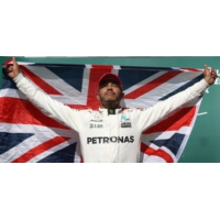 Logo of the podcast F1, Lewis Hamilton puissance 4