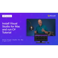Logo of the podcast Install Visual Studio for Mac and run C# Tutorial [2 of 4] | Intro to Visual Studio for Mac