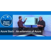 Logo of the podcast Azure Stack - An extension of Azure | Azure Friday