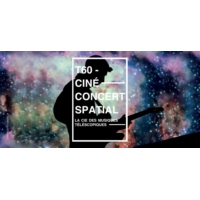 Logo of the podcast T-60, ciné-concert saptial !