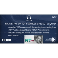 Logo of the podcast W17: Nick [RTFM] on TOTY Market & Elite WL