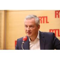"""Logo of the podcast Bruno Le Maire : """"Quoi qu'il arrive, je soutiendrai le vainqueur"""""""