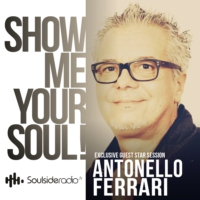 Logo of the podcast SOULSIDE Radio presents ANTONELLO FERRARI // Exclusive Guest Mix Session // 01.2017