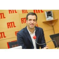 """Logo du podcast """"EDF va bien, EDF n'est pas dans le rouge"""", assure Jean-Bernard Lévy"""