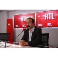 """Logo of the podcast CGT : """"Il y a beaucoup de choses à conquérir"""", dit Philippe Martinez sur RTL"""