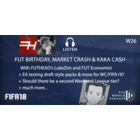 Logo of the podcast W26: FUT Birthday Crash & Kaka Cash