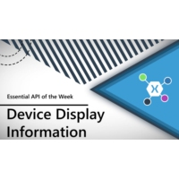 Logo of the podcast Device Display Information (Xamarin.Essentials API of the Week) | The Xamarin Show