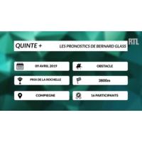 Logo of the podcast Quinté + : la dernière minute du Prix de la Rochelle