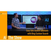 Logo of the podcast Easy Site Search Solutions with Bing Custom Search | AI Show