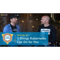Logo of the podcast Episode 21: Five Things Kubernetes Can Do for You | Five Things