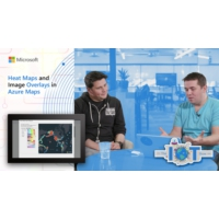 Logo of the podcast Heat Maps and Image Overlays in Azure Maps | Internet of Things Show